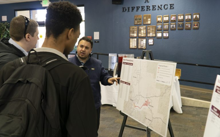 Students' Express Opinions on County's Public Transportation