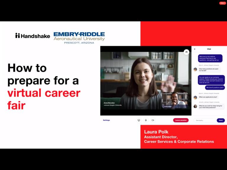 Career Services: How to Prepare for a Virtual Career Fair