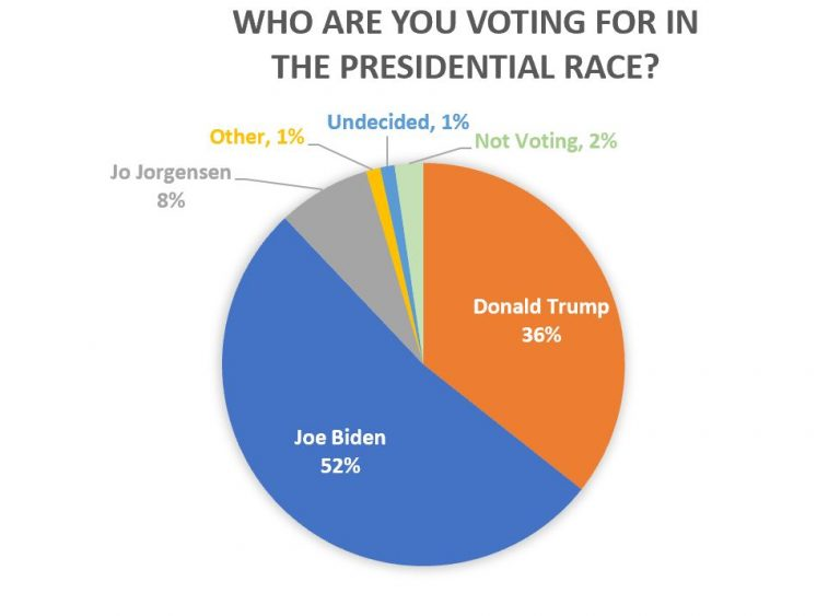 2020 Presidential Election Survey Results