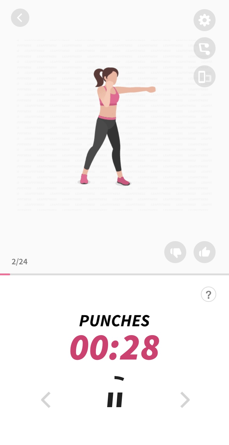 Dance Workout – Rating 3/5