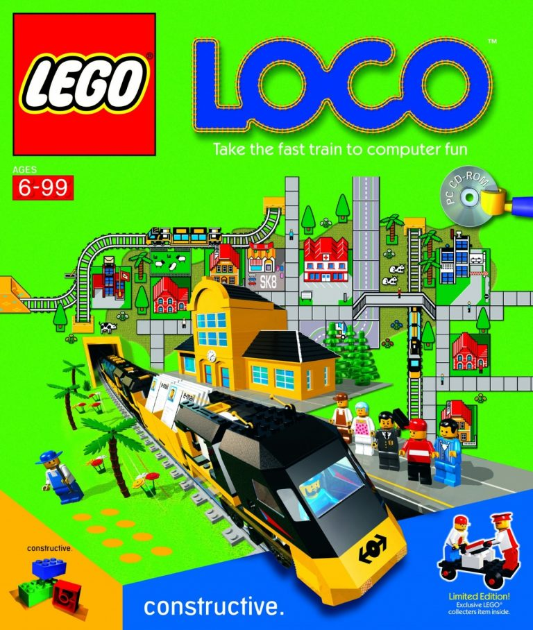 "Video Game Review: ""Lego Loco"""