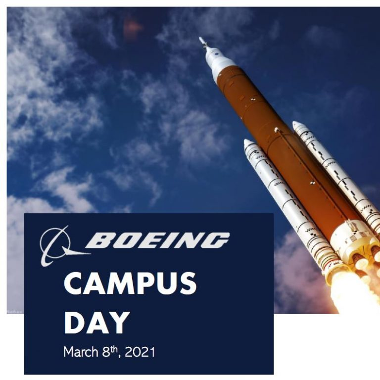 Boeing Hosts Luncheon, 1:1s, Speaker Sessions for Student Networking