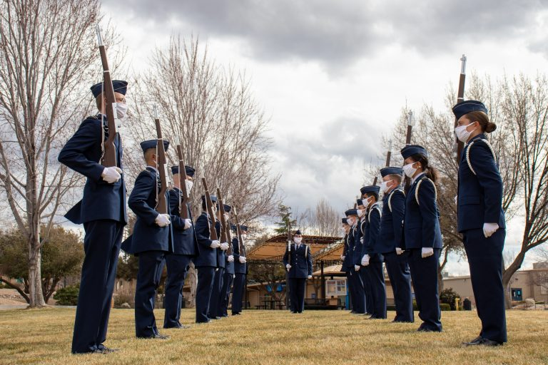 AFROTC Honor Corps completes another performance on behalf of the school and SGA