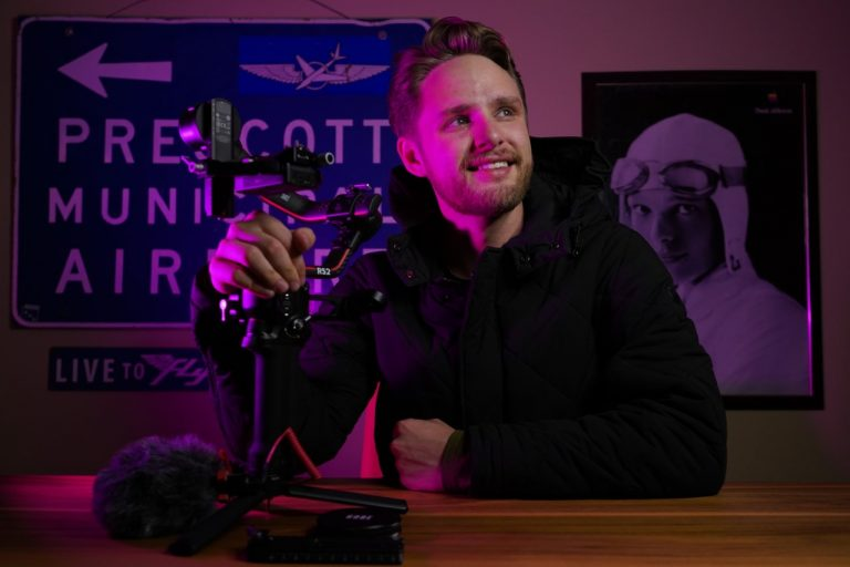 Senior flight student creates Project Aces to inspire younger generation